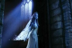 Gothic church window from Corpse Bride