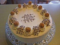 Giotto - Torte, ein tolles Rezept aus der Kategorie Torten. Bewertungen: 7. Durchschnitt: Ø 3,7.