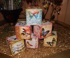 Cubos decorativos, by drica klein