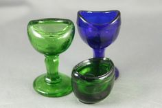Cobalt Blue, Blue Green, Vintage Medical, Mason Jar Wine Glass, Dental, Meditation, Cups, Collections, Bath