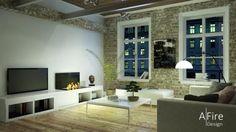 television-cheminee-bio-ethanol-encastree-loft AFIRE http://www.a-fireplace.com/fr/cheminee-television/