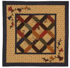 Kansas Troubles Charm Quilt