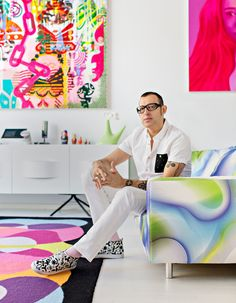 Financial Times  - Karim Rashid talks personal style: Part Two Karim The industrial designer concludes his list of likes with David Bowie, Miami's South Beach and DJing