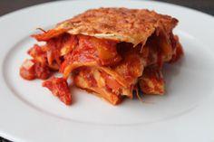 Tortilla Lasagna http://www.onekitchenblog.com/?p=1133
