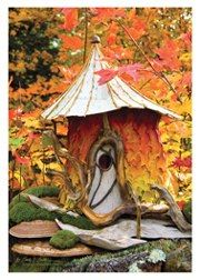 Greenspirit Arts Cards - Faerie Houses Collections  Lots of really great Faerie Houses and Eartherials (sculptures) on site - she does beautiful work.