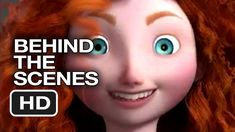 Brave Behind The Scenes - Designing A Character (2012) - Pixar Animated ... #makings #movies #animated