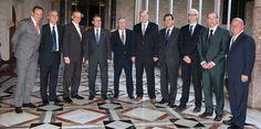 La delegación de Carnival se reunió con el president de la Generalitat, el alcalde de Barcelona y el presidente de la APB.