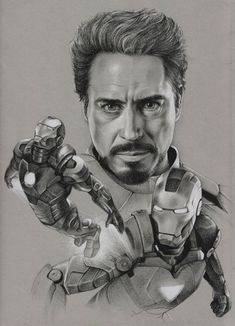 Marvel Drawing The Avengers - Iron Man by Raven-Scribbles on deviantART - Marvel Avengers, Marvel Art, Marvel Heroes, Iron Man Image, Iron Man Art, Drawing Cartoon Characters, Marvel Characters, Cartoon Drawings, Pencil Drawings