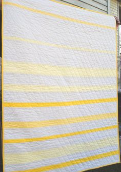 yellow quilt back