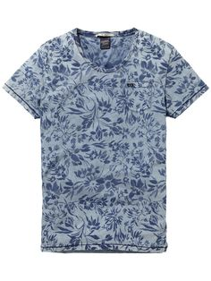 52 Trendy T-shirt Print Kids Scotch Soda Cool Tees, Cool Shirts, Le Polo, Mens Trends, Camisa Polo, Printed Tees, Shirt Style, Indigo, T Shirt