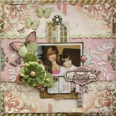 Such a Pretty Mess: Mixing and Matching Collections {Bo Bunny Primrose and The Avenues}