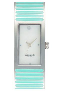 Kate Spade new york 'carousel' bangle. Lovely Mint & Silver.