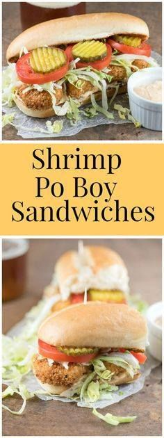 How to make classic How to make classic Shrimp Po Boy Sandwiches...  How to make classic How to make classic Shrimp Po Boy Sandwiches at home. Click the pic for the full printable recipe. Recipe from RecipeGirl.com. Recipe : http://ift.tt/1hGiZgA And @ItsNutella  http://ift.tt/2v8iUYW