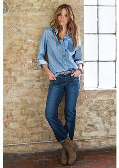 98 meilleures images du tableau Intemporels  chemise en jean a927a7f2f03