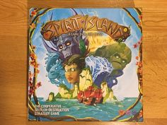 the objective of Spirit Island is to purge the never-ending stream of chalk-white settlers from the sacred island of the Dahan White Settlers, Tabletop Board Games, The Expanse, Battle, Boss, Spirit, Earth, Island, Islands