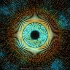 The eye of truth/love sees all of us as one vibration experiencing itself through many different frequencies. There is no-thing to hate, there is no-thing to fear, its all you. Symbola - Cosmic Eye