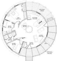 Yurt Floor Plans on inside a 4 bedroom house