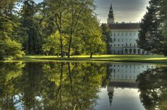 Kromeriz in Moravia, Czech Republic The Beautiful Country, Beautiful Places, Great Places, Places To Go, Exotic Beaches, Old Churches, Europe Photos, Central Europe, Places Of Interest