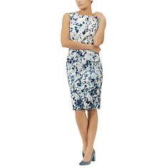 Buy Fenn Wright Manson Petite Floral Corsica Dress, Blue Floral Print Online at johnlewis.com