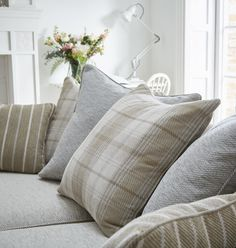 Introducing our brand new sofa, the Country Living Morland with DFS Country Sofas, Cushions On Sofa, Arm Chairs Living Room, Cottage Sofa, Country Living Room, Classic Sofa Living Room, Rustic Living Room, Living Room Grey, Country Cushions
