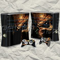 Evil Eye XBOX 360 Skin Set - Console with 2 Controllers