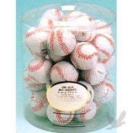 Milk Chocolate Baseballs BULK (36 count)    baseball theme birthday party and baby shower ideas