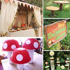DIY enchanted garden party for girls..
