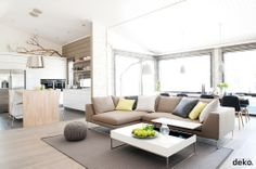 #modern #nordic #scandinavian #home / Great mix of colour and tone
