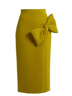 Maida bow-detail midi skirt | Roksanda | MATCHESFASHION.COM UK
