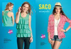 Art: 4578-34 MUSCULOSA  Art: 4970-32 SACO