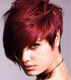 cheveux acajou recherche google - Coloration Rouge Acajou