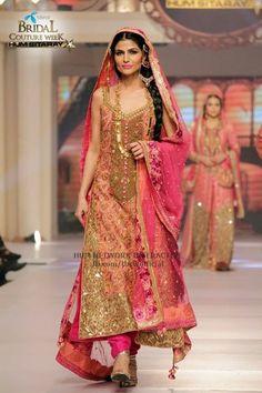 Pakistani bridawal couypur week june2015 #pbw designer #ayesha ibrahim pinned by #sidra younas