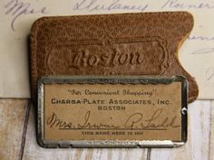 Charga-Plate Associates Boston Department Store by VintageSupplyCo