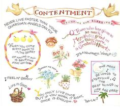 Contentment ~ Susan Branch