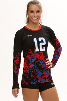 Women's Jerseys - Urban Camo Sublimated Jersey | R023