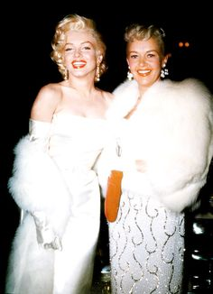 We were very close. Once I got a call on the set: my younger daughter had had a fall. I ran home and the one person to call was Marilyn. She did an awful lot to boost things up for movies when everything was at a low state; there'll never be anyone like her for looks, for attitude, for all of it. - Betty Grable