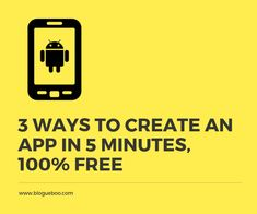 Make an App from these tools is a good first step to learning How to Create an App, Just click Create an App, then start creating the application project. Build Your Own App, Build An App, How To Makr, 100 Free, App Development, First Step, App Design, Mobile App, The 100