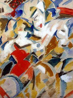 Uruguay - Rafael Barradas, Clowns, 1920