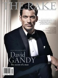 David Gandy is the Ultimate Gentleman in Dolce & Gabbana on the Cover of The Rake Magazine #24