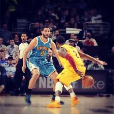 Check out our Photo of the Game from February 20, 2013. Guard Kyrie Irving shows off some ball handling skills against the New Orleans Hornets at Quicken Loans Arena in Cleveland, Ohio. Photo courtesy of David Liam Kyle / NBAE via Getty Images. Check out more game photos here: http://www.nba.com/cavaliers/photogallery/nohcle-130220