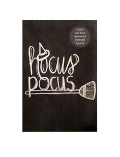 Hocus Pocus Halloween Handdrawn Chalkboard Art by FunkyOldPatina Chalkboard Doodles, Chalkboard Writing, Kitchen Chalkboard, Chalkboard Drawings, Chalkboard Lettering, Chalkboard Designs, Diy Chalkboard, Chalkboard Quotes, Halloween Tafel