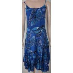 Desigual dámské šaty tmavě modré 44