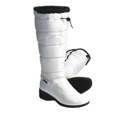 Khombu Snow Puff Winter Boots - Faux-Fur-Lined (For Women) in White White Winter Boots, Winter Gear, Faux Fur, Celebrities, Womens Fashion, Snow, Fashion Tips, Trading Post, Work Outfits
