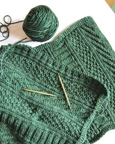 Pinner says 'This pattern is very easy'.. The pattern is on Ravelry - The Guernsey Wrap and knitted by ItalianDishKnits.