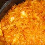 pasta e patate  con la provola