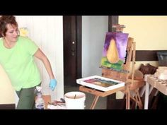 The Light and Dark qualities of color. Painting with Jennifer Bowman