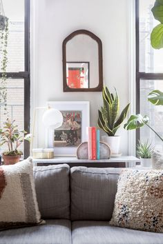 living room vignette
