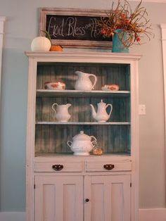 Pinterest Kitchen Cabinet Makeover Ideas   Found on cobblestonefarms.blogspot.com