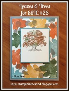 Stampin Up For All Things and Lovely as a Tree stamp set