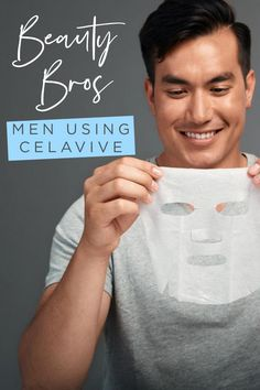 Fellas, it's In we care about our skin and how we look. It's cool to moisturize and tone and use a sheet mask. It's time for us to grow up and glow up. Health And Fitness Articles, Health Tips, Health Fitness, Men's Health Month, Fresh Face, Body Care, Growing Up, Sheet Mask, Science